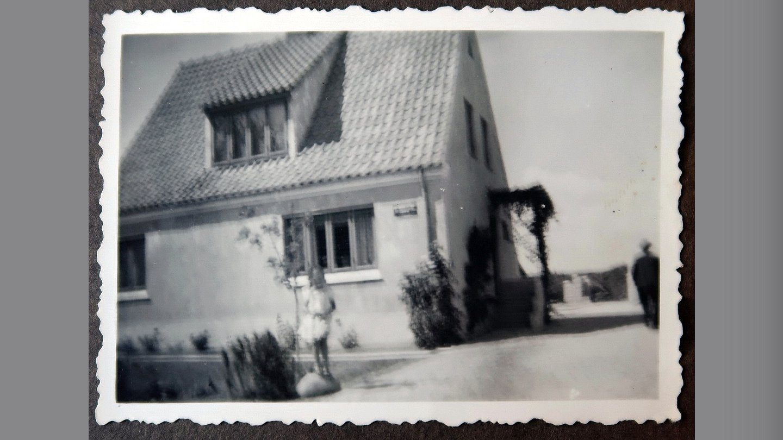 Huset i Gjerlev - dengang