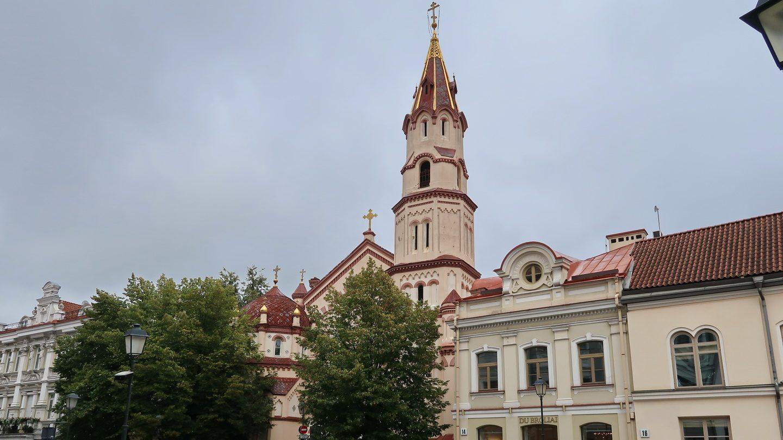 Den ortodokse Nikolaikirke i Vilnius