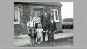 Familien i Stouby ca. 1948