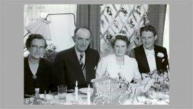 Maja og Hermanns bryllup 1955