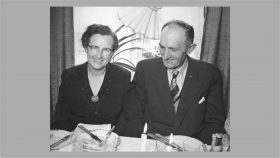 Mary og Anthon Jensen 1955