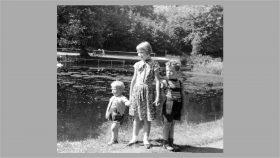 Lars, Ellen og Bent i 1958