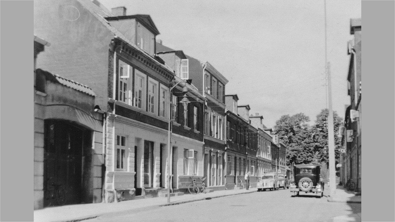 Holmen i Vejle omkring 1960