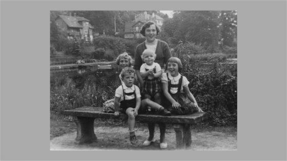 Mine 5 søskende i 1958
