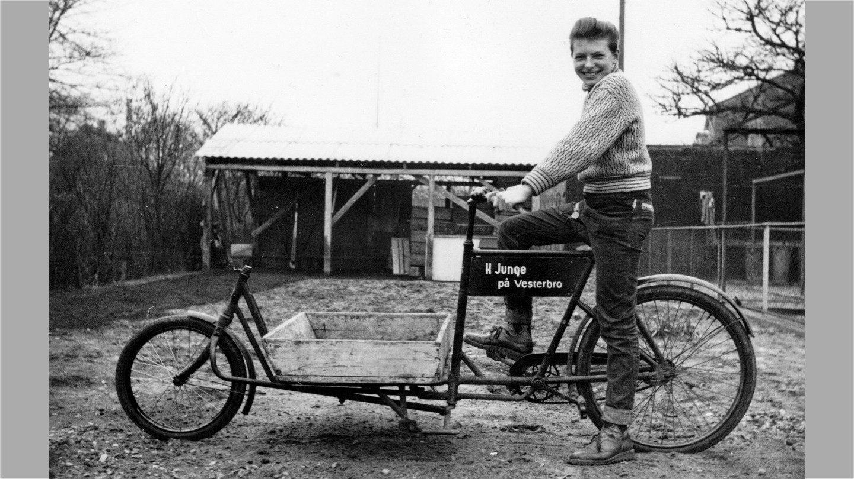 "Vagn Hansen på ""Long John"" hos Junge 1960."