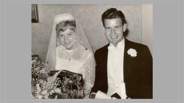 Kamma og Verners bryllup 1963