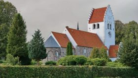 Grønbæk Kirke fra nørdøst 2019