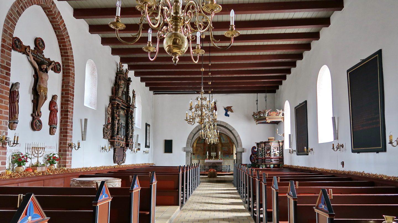 Grønbæk Kirke interiør 2019