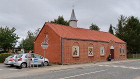 Grauballe Missionshus ombygget til en Serbisk Ortodoks Kirke 2019