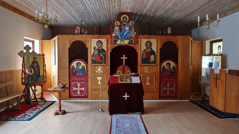 Den Serbisk Ortodokse kirkes indre 2019