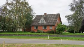 Det nuværende hus i Låsby 2019