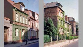 Holmen 18 og Langelinie Skole i 1962