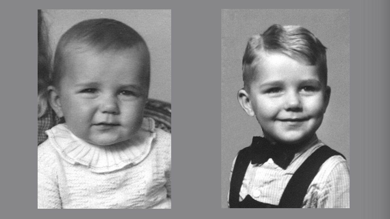 Thorkild ca. 1946 og 1949