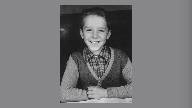Thorkild som skoledreng ca. 1954.